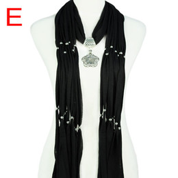 5colors available, Fashion women retro style alloy flower pendants Jewelry scarf necklace for lady accessories ,NL-1619