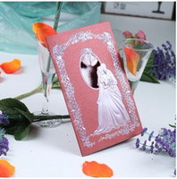 Wholesale Wedding invitations thank you card Western style wedding cards personalized invitation fashion card1