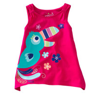 3T-4T Medium Red girls tshirts jumpers blouses boy's tees shirts dress tank tops gilet sweatshirts baby outfits LM757