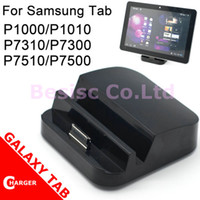 Wholesale Charger Dock Cradle USB Station For Samsung GALAXY TAB P1000 P1010 P7510 AC09