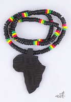 Unisex africa wood necklace - 20pc Good Wood NYC X Chase Infinite Black Africa Wooden Beads Necklace Hip Hop Fashion Jewelry