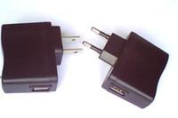 Wholesale EU plug US plug charger wall charger for phone mp4 mAh