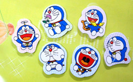 Wholesale Free Ship Pieces Mixed Dora Doraemon Cartoon Eraser pencil eraser office supply In Nice Gift Box