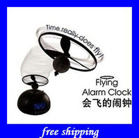 Wholesale hot Flying alarm clock helicopter alarm clock Crazy kids gifts ideas popular gifts