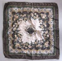 Wholesale scarf Collar fashion scarf silk scarf Small square scarf Imitation silk scarf Trinkets cm