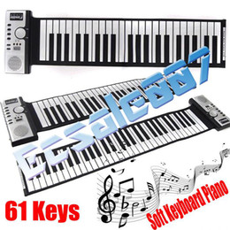 Wholesale Fashion Key Keys Digital Roll up Soft Keyboard Piano with MIDI Electronic Organ For Kid s Gift