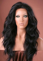 Wholesale XCSUNNY Gorgeous quot quot Body Wave B Indian Remy Curly Full Lace Wigs Human Hair Wigs Wig NEW025