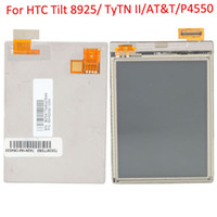 For HTC LCD Screen Panels  LCD Screen With Touch Screen Digitizer For HTC Tilt 8925 TyTN II AT&T P4550 10pcs lot M9205