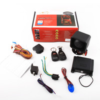 Wholesale For Ford Auto CAR ALARM SECURITY System KIT amp Remote