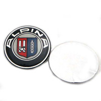 Wholesale ALPINA steering wheel Badge badges Emblem stickers car accessories mm