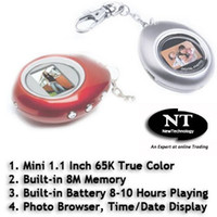 Wholesale Mini Digital Photo Frame with Keychain M Memory inch Screen K True Color DF101