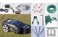 Wholesale Newest Robotic Grass Cutter With Remote Controller With Li ion battery
