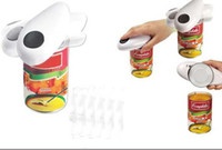 Wholesale new Automatic can opener can opener electric can opener can knife rosemary1989
