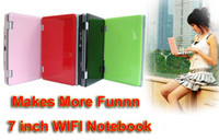Wholesale New Promotion fashionable Mini Laptop Notebook inch Netbook for Kids amp Ladies