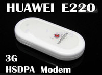 Wholesale 100 Unlocked Original HuaWei E220 wireless modem support google android tablet PC