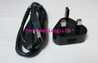 bb post - combine sale UK plug home Charger adpater amp data cable for blackberry BB free post