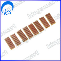 Wholesale 8x Copper Heat Sink F DDR DDR2 RAM Memory Cooler MC
