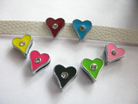 Wholesale 100pcs mm playing card Slide Charms DIY Accessories Fit Pet Collars Wristbands Belts