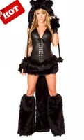 gothic wear - sarmit Hot halloween sexy women stage wear catwoman performance clothing drop shipping colors