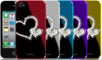 Wholesale Dreamplus Steve Jobs Bling Rhinestone Electroplate Protective Hard Back Case Cover for s