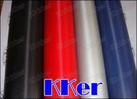 Wholesale 1 mx m Vinyl Film D Carbon Fiber Fashion Vinyl Wrap Colors Car Twill Weave Sticker Waterproof