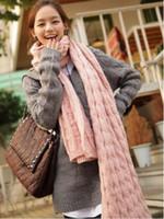 Wholesale hot sales wolesale Korea Latest Fashion Long Knitting Wool Scarf
