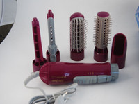 Wholesale New EU Eurotec Hair Styler With Attachments Electric Comb With Brush Clip Pipe Hood