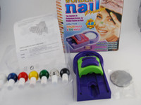 Cheap Nail Art Colors Drawing Polish Kit Stamper DIY Printer Nail Stamping Printing Machine Hot Sale 10pcs