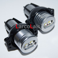 Wholesale 2pcs Super Bright W White LED Light Angel Eye Halo Ring Bulb Lamp for BMW Car E90 E91 i i