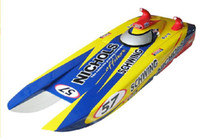 Wholesale AP ceo fashion cc gas engine rc boat Trailblazer GP260 Nichols w LED Pis