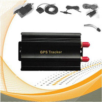 Wholesale Hot Selling Quadband TK103A Vehicle GPS Tracker Real Time Online Tracking Platform Multiple Functions of Security Car GPS Tracking Device