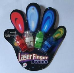 2000pcs LED Laser Finger light Beams Ring for Party   KTV Colorful Finger Light With blister Packing