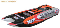 Wholesale fashion cc gas engine rc boat catamaran