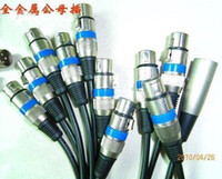Wholesale Pin XLR plug Color Changer Moving light pin connector stage light accessorie DMX signal three