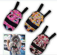 Wholesale Pet Dog Carrier Legs Out Front Style Backpack Net Bag Any Durable Washable