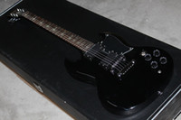 Solid Body 6 Strings Basswood 2013 New Style one-piece HIgh Quality G CUSTOM SG black cross fingerboard electric guitar #158