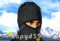 Wholesale CS warm face mask hat skiing bike hood veil scarf face mask hat snowboarding sledding snowmobile cap