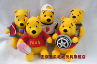 Wholesale Stuffed Bears Winnie The Pooh Plush doll Toys Birthday Present Gift Toy set of