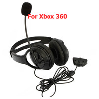 Wholesale Live Headset Microphone For Xbox Black Big Ship From USA