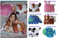 Wholesale doomagic lovely pillowcase children bedding case doomagic classical pillowcase cartoon pillow covers