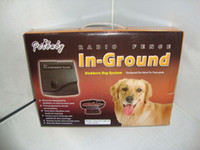 Wholesale 2pcs remote dog training collar In Ground Radio Fence System stubborn dog system
