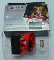 Wholesale 50pcs Pet Bark Stopper dog training anti bark Color box bark control collar