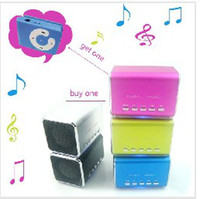 Wholesale Promotional new Mini USB speakers with TF card mp3 music player FREE C key clip mp3 AS GITF