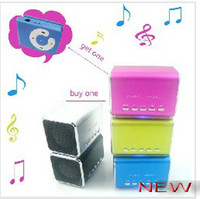 Wholesale Price Discount New Mini Speaker usb speakers with TF card mp3 music player angel speaker