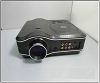 Wholesale DHL Free HD i LCD Video Projector For DVD Satellite TV Home Theater LED lamp lasts GT MP