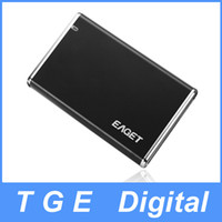 "7200 3.5'' 1TB; 2TB Eaget H100A 3.5"" USB 2.0 eSATA Portable External Hard Drive HDD Black 1TB 2TB"