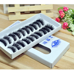 Wholesale Eyelashes Pair Thick Long False Eyelashes Eyelash Eye Lashes Voluminous Makeup HK Post