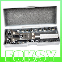 Wholesale Watch Case Opener Tool Boxset Wrench Remover Screw Back by foksy