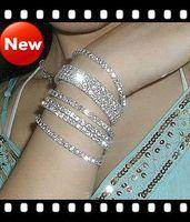 Wholesale 50pcs CZdiamond amp Alloy bracelets Charm bracelet Cheap jewelry Cheap accessories