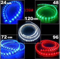 Wholesale 120cm led strip CM ed Auto LED strip lighting PVC led Strip light waterproof LED Strip